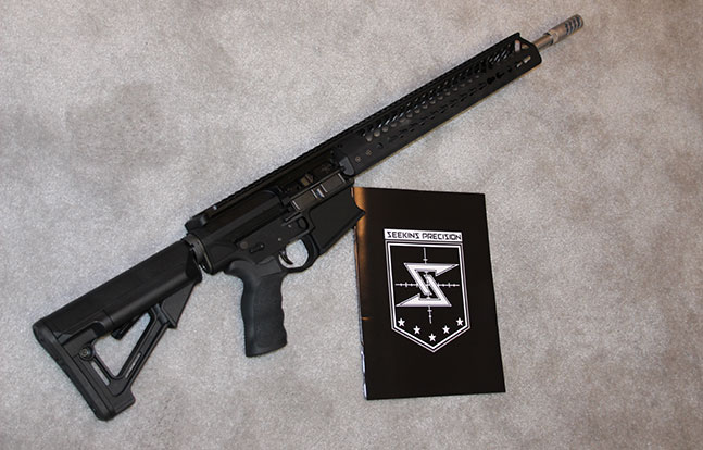 fall 2014 best tactical rifles Seekins Precision SP10 logo