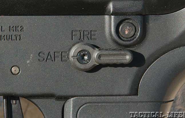 gun test PWS MK212SD lever