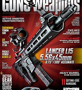 GUNS & WEAPONS FOR LAW ENFORCEMENT DECEMBER 2014/JANUARY 2015