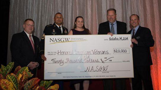 Honored American Veterans Afield 20K Donation