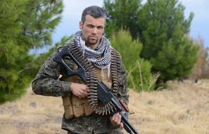 Jordan Matson Kurdish Militia