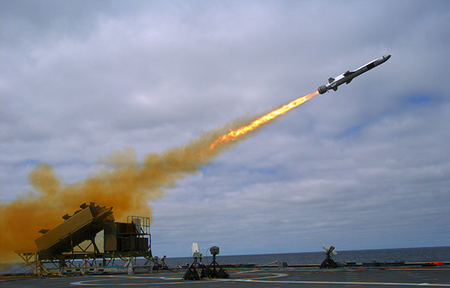 Konsberg Naval Strike Missile Test Success