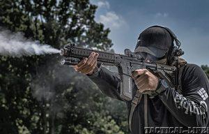 Lights & Lasers 2014 Black Guns Evergreen lead