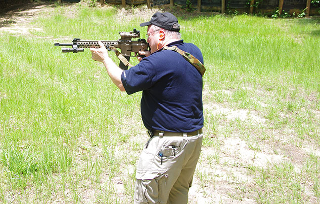 MILTAC Alpha AR Carbine evergreen firing