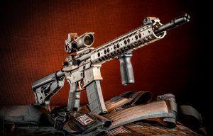 MILTAC Alpha AR Carbine evergreen lead