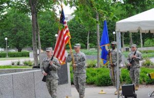 Minnesota Military Family Tribute groundbreaking