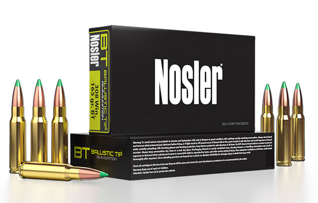 NASGW ammo evergreen Nosler lead