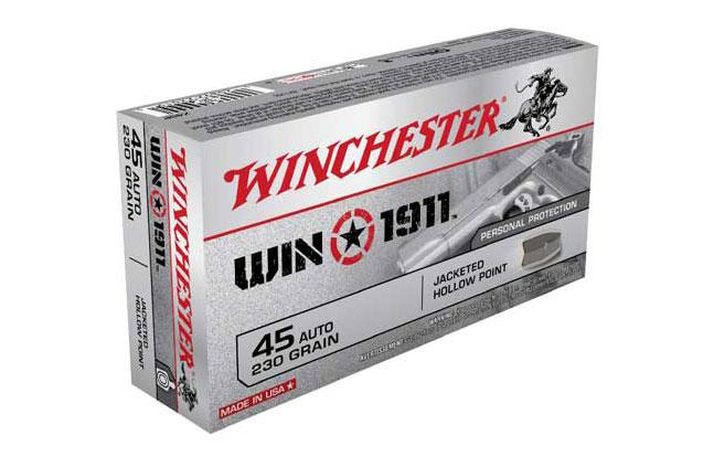 NASGW ammo evergreen Nosler Winchester Win1911