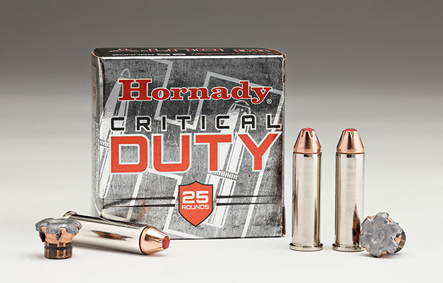 NASGW LEO products Hornady Critical Duty .357 Magnum Ammo