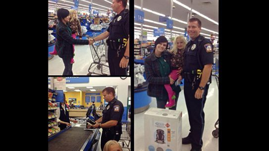 Michigan Officer car seat Wal-Mart