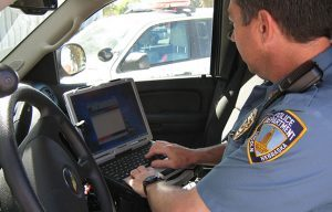 Police Driving Distractions Technology