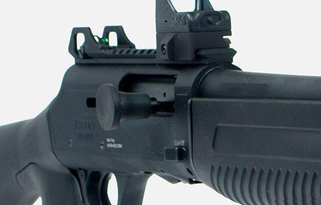 Top Features Escort MP-S/A TacStock2 Shotgun bolt
