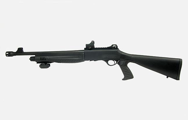 Top Features Escort MP-S/A TacStock2 Shotgun cut-off