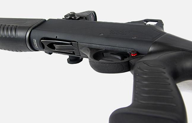 Top Features Escort MP-S/A TacStock2 Shotgun safety