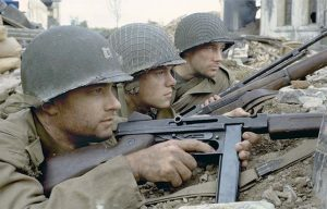 Hollywood Wartime firearms Movies MS 2015 Saving Private Ryan