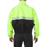 5.11 Tactical Bike Patrol Jacket yellow back