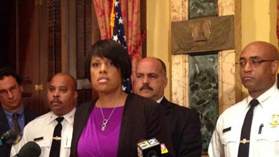 Baltimore Mayor police body camera