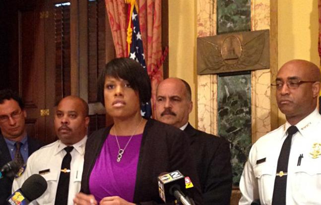 Baltimore Mayor police body camera