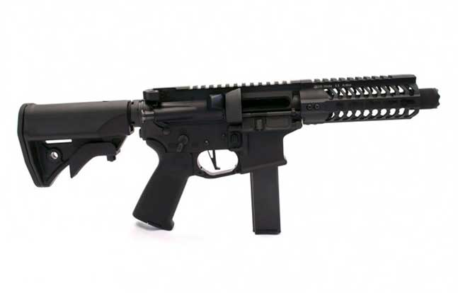 Black Creek Precision 9mm SBR 2014 IACP right