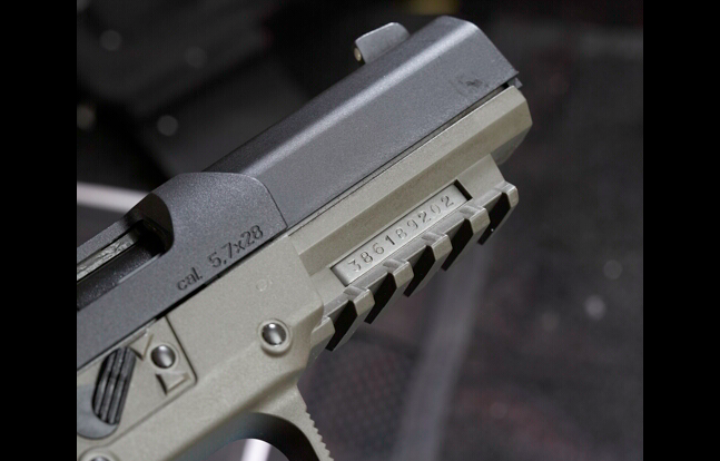 FN Five Seven SWMP 2014 rail