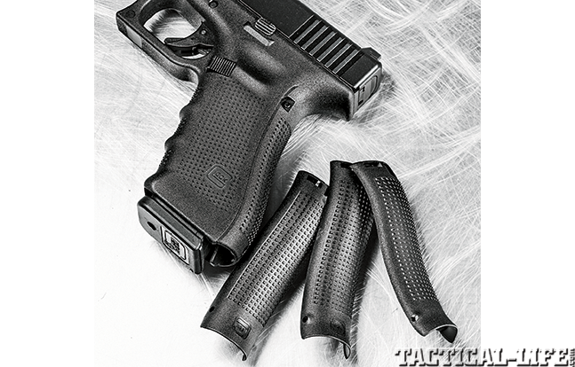 Glock 22 Remington 870 GWLE Glock panels