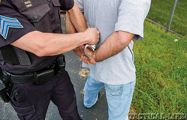 handcuffing GWLE Dec 2014 arrest