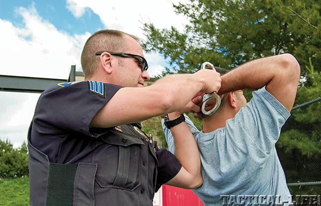 handcuffing GWLE Dec 2014 lead