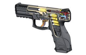 Handgun Trigger HBG 2015 color