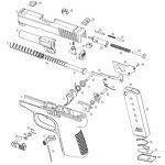Handgun Trigger HBG 2015 Kahr P380 diagram