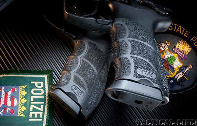 HK45 SWMP 2014 grips