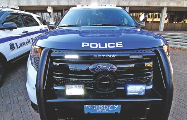 Lowell Police SUVs 2014