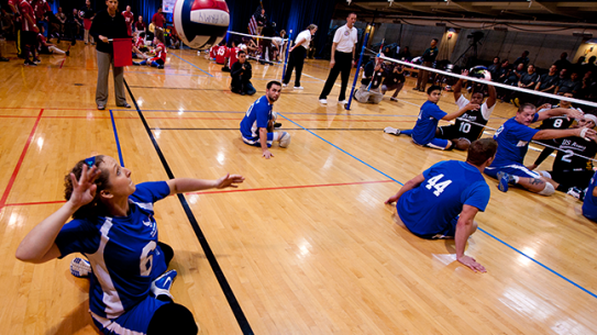 Pentagon Sitting Volleyball Tournament 2014