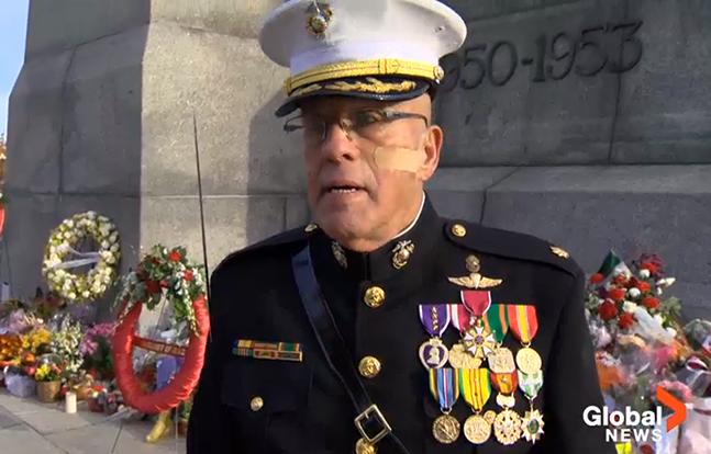 "Ralph ""Fox"" Sinke Canadian National War Memorial"
