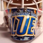 St. Louis Blues mask bottom