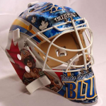 St. Louis Blues mask right