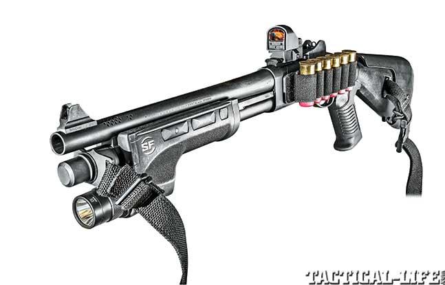 TW Dec Remington 870 Police Magnum lead