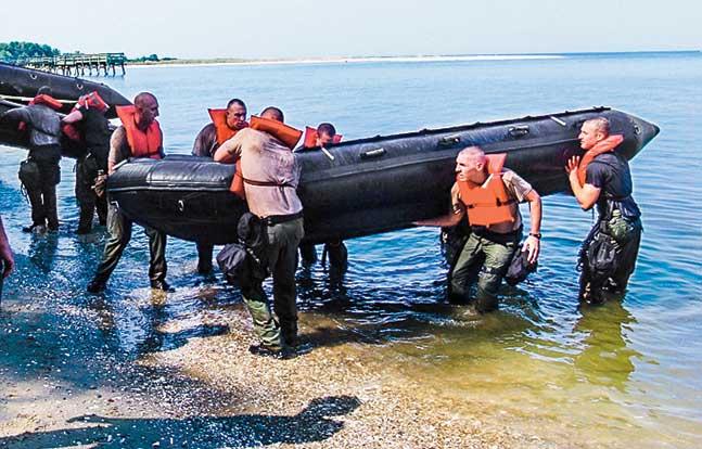 TW Dec Calvert SWAT boat