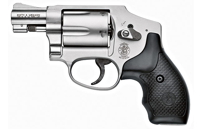 11 Law Enforcement handguns 2014 Smith & Wesson 642