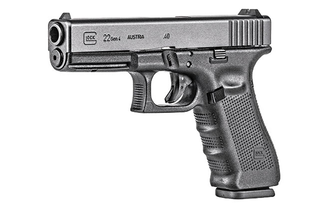 11 Law Enforcement handguns 2014 Glock 22