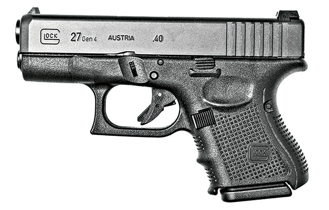 11 Law Enforcement handguns 2014 Glock 27