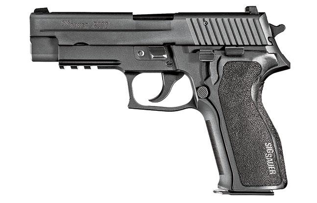 11 Law Enforcement handguns 2014 Sig Sauer P226