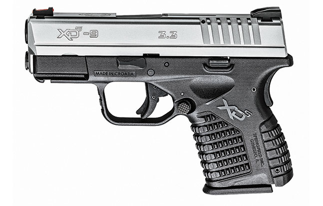 11 Law Enforcement handguns 2014 Springfield Armory XD-S