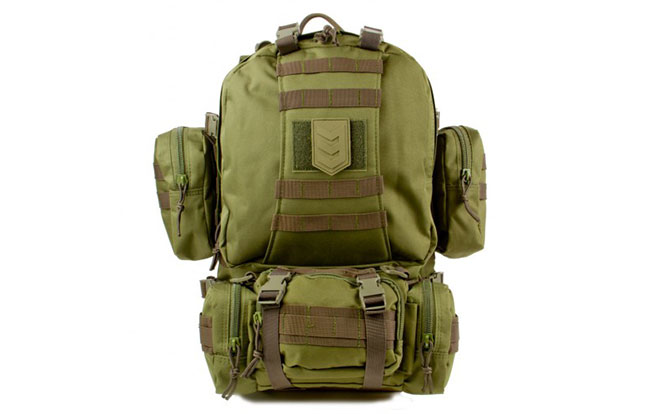 3V Gear Paratus 3 Day Operator's Pack back