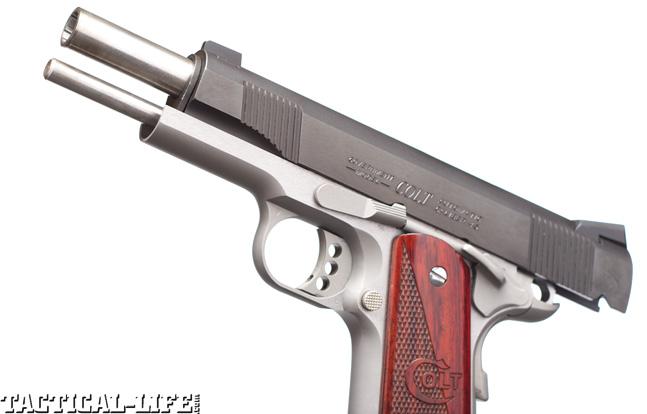 Combat Handguns top 1911 2015 COLT COMBAT ELITE trigger