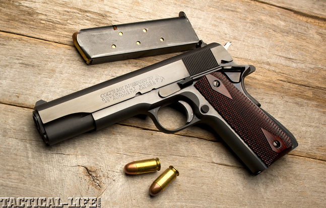 Combat Handguns top 1911 2015 COLT MARK IV SERIES 70