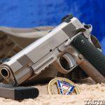 Combat Handguns top 1911 2015 CYLINDER & SLIDE TRIDENT II lead