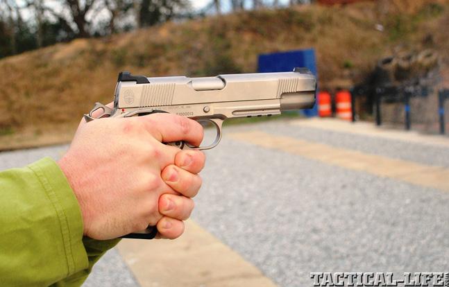 Combat Handguns top 1911 2015 CYLINDER & SLIDE TRIDENT II field