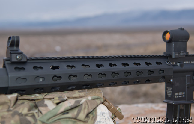 Top 30 Rifles TACTICAL WEAPONS 2014 Heckler & Koch MR556A1-SD forend