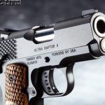 Combat Handguns top 1911 2015 KIMBER ULTRA RAPTOR II muzzle