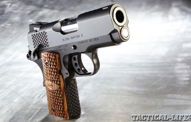 Combat Handguns top 1911 2015 KIMBER ULTRA RAPTOR II lead